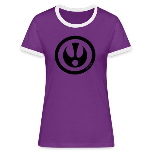 FITTICS SHIELD Black - Women's Ringer T-Shirt