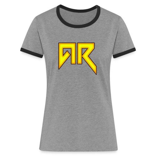 logo_trans_copy - Women's Ringer T-Shirt