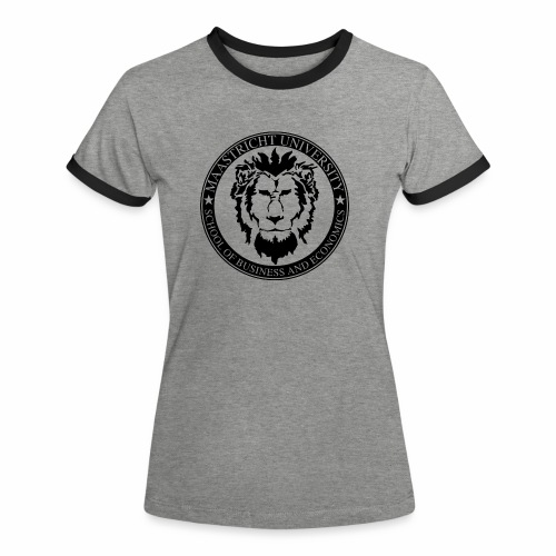 SBE Lion Black - Women's Ringer T-Shirt