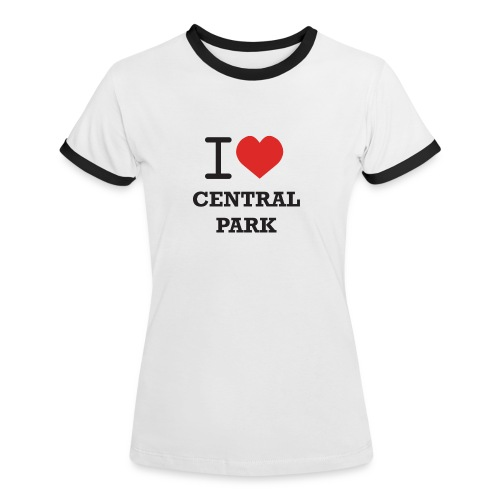 keskuspuisto - Naisten kontrastipaita