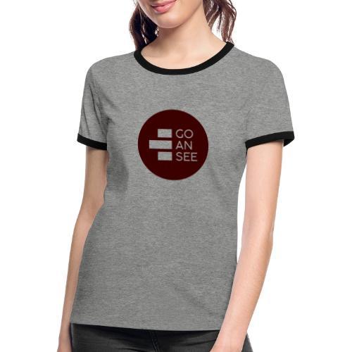 GOANSEE LG MGNT - Camiseta contraste mujer