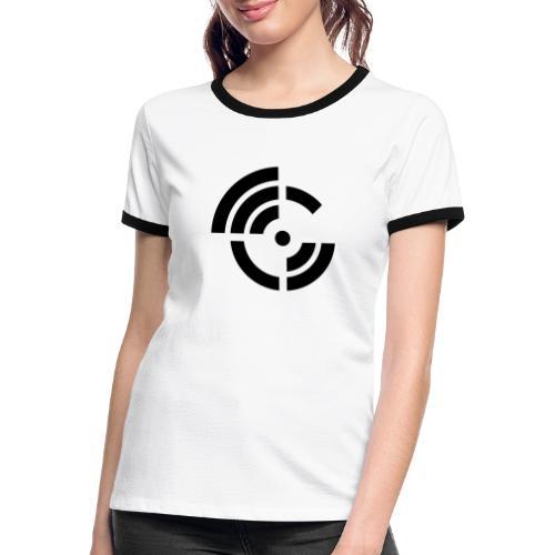 electroradio.fm logo - Women's Ringer T-Shirt