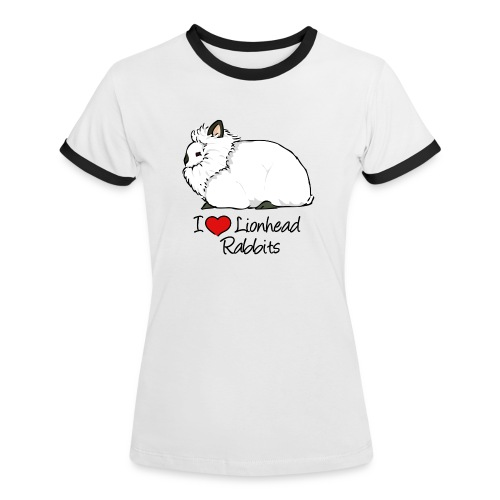 Lionhead 2 - Women's Ringer T-Shirt