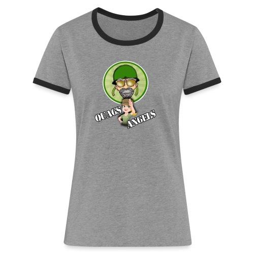 Quag's Angles - Women's Ringer T-Shirt
