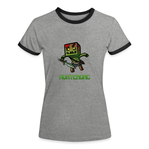logo2 png - T-shirt contrasté Femme