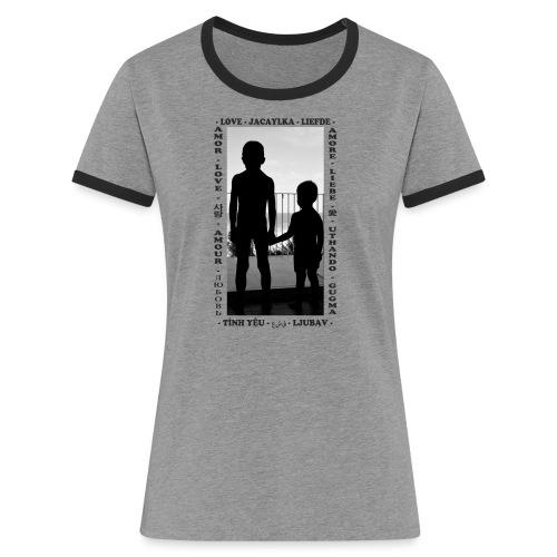Fratelli - Maglietta Contrast da donna
