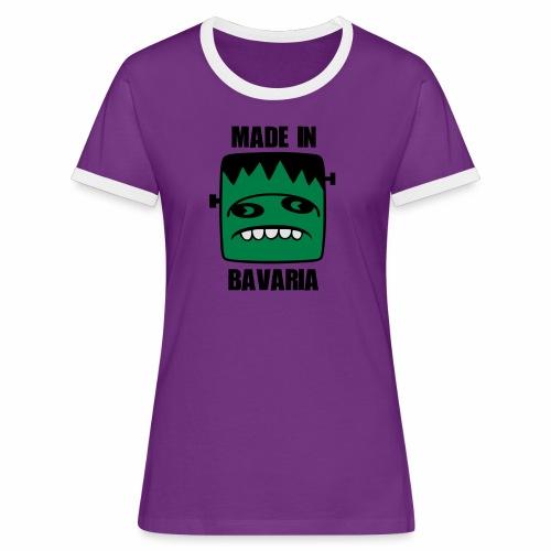 Fonster made in Bavaria - Frauen Kontrast-T-Shirt
