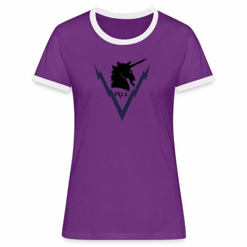 Brand RLL Color - Maglietta Contrast da donna