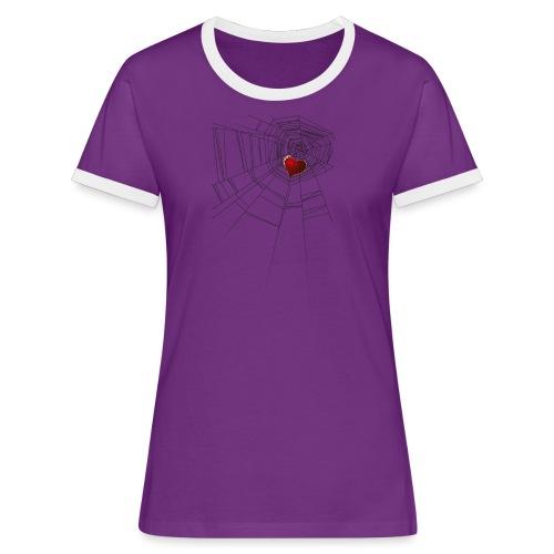 trappola_del_cuore - Maglietta Contrast da donna