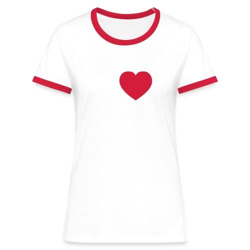 iloveshane - Frauen Kontrast-T-Shirt