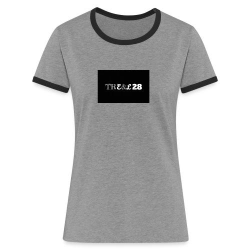 Logo tre&l28 - T-shirt contrasté Femme