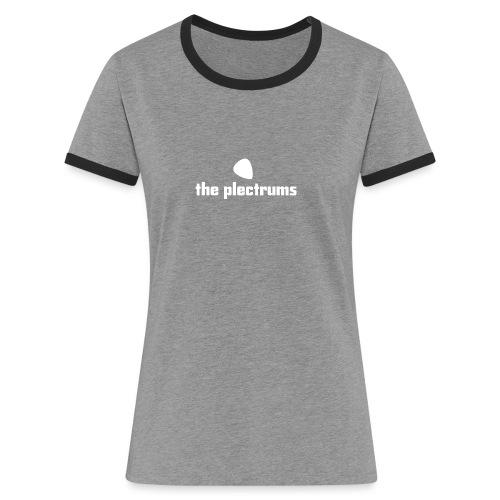 white png - Women's Ringer T-Shirt