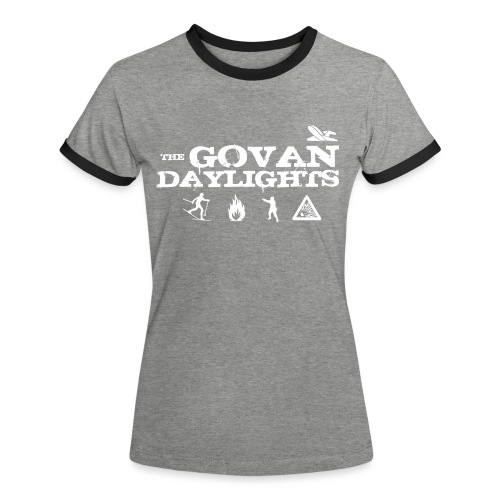 The Govan Daylights - Women's Ringer T-Shirt