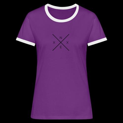 NEXX cross - Vrouwen contrastshirt
