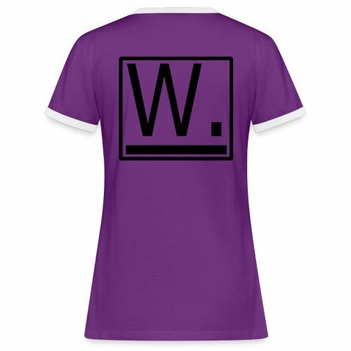 W. - Vrouwen contrastshirt