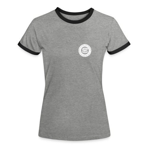 jacksonspider weiss - Frauen Kontrast-T-Shirt