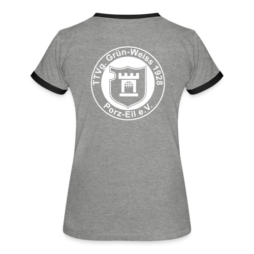 gw eil logo cs2 - Frauen Kontrast-T-Shirt