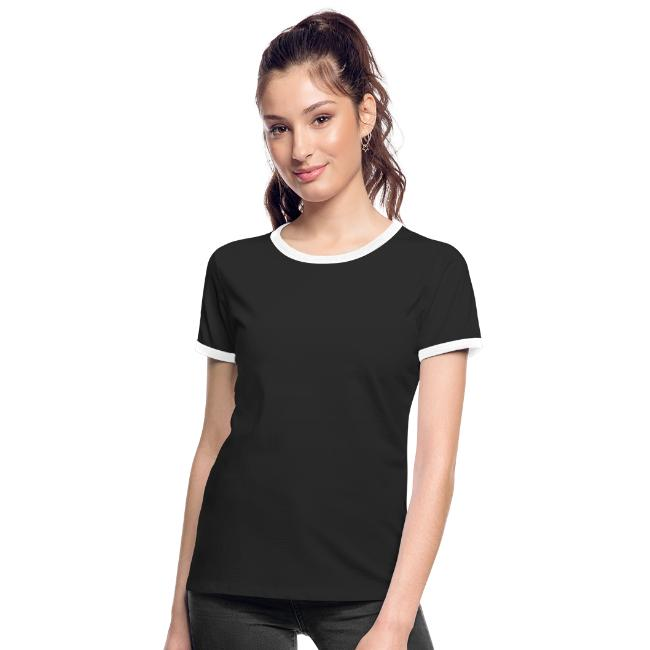 Dame t-shirt mørk