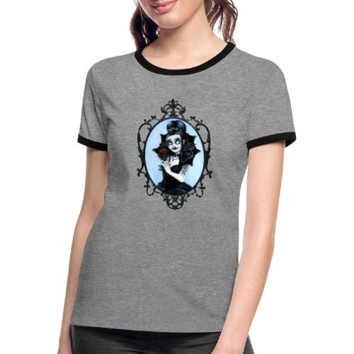 Model of the Year 2020 Lilith LaVey - Women's Ringer T-Shirt