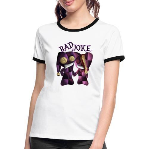Traumpaar aus dem Irrenhaus - Frauen Kontrast-T-Shirt