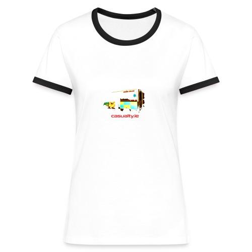 maerch print ambulance - Women's Ringer T-Shirt