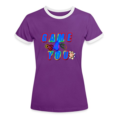 Game4You - Women's Ringer T-Shirt