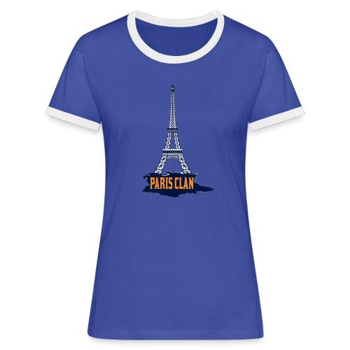 Paris Eiffel - Women's Ringer T-Shirt