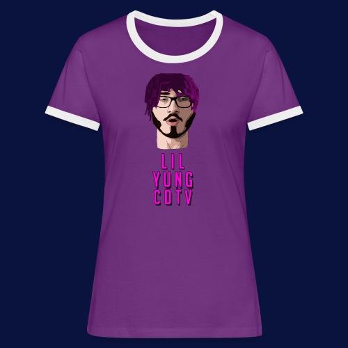 LIL YUNG CDTV ALT. TEXT - Women's Ringer T-Shirt