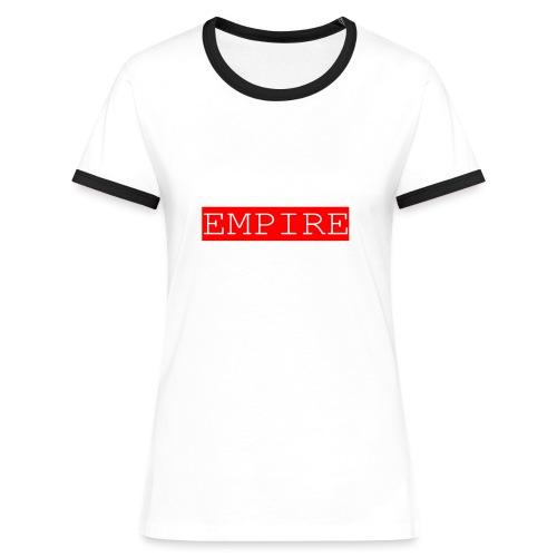 EMPIRE - Maglietta Contrast da donna