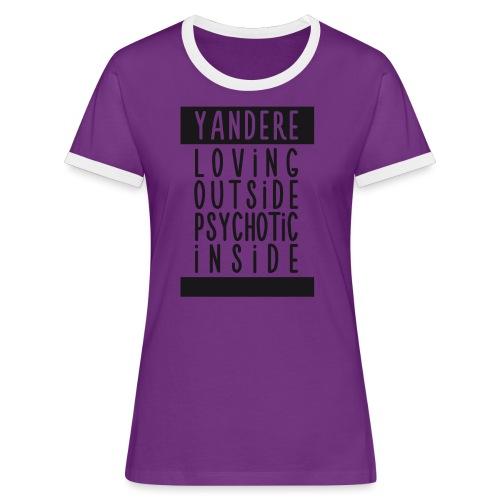 Yandere manga - Women's Ringer T-Shirt