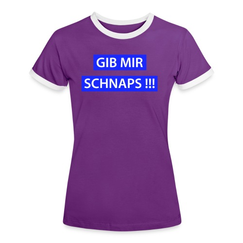 Wanda - gut beinanda - Frauen Kontrast-T-Shirt