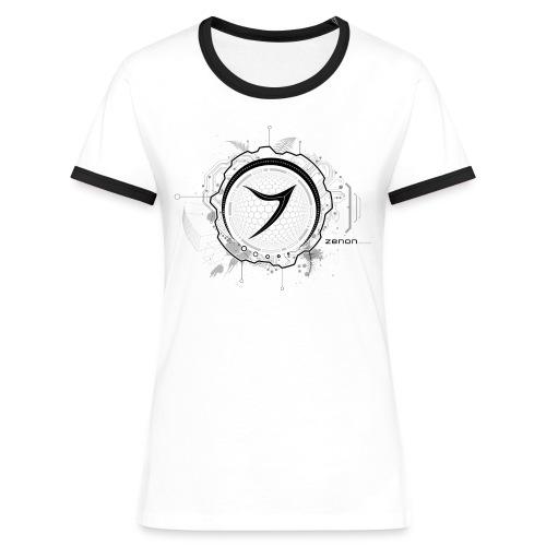 Zenon TECH (black) - Women's Ringer T-Shirt