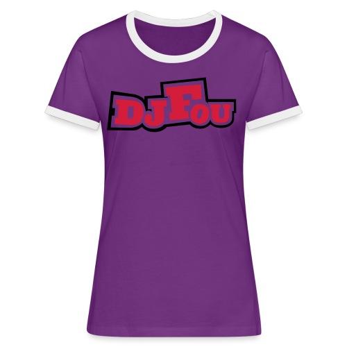 logofou - T-shirt contrasté Femme
