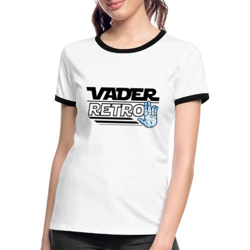 Vader Retro! - Maglietta Contrast da donna