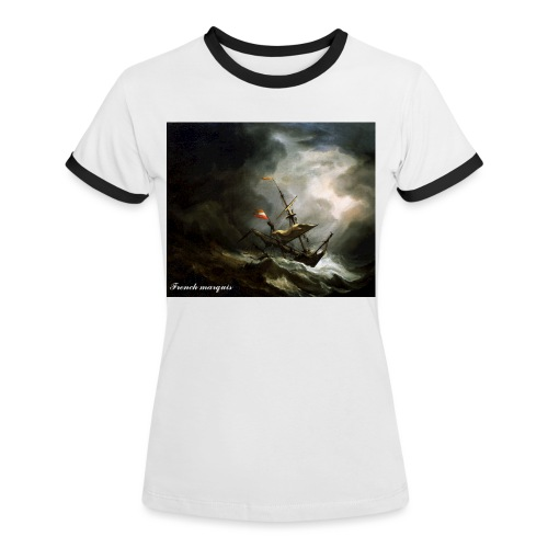 T-shirt French marquis Storm - T-shirt contrasté Femme