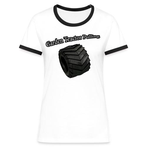 Pulling - Dame kontrast-T-shirt