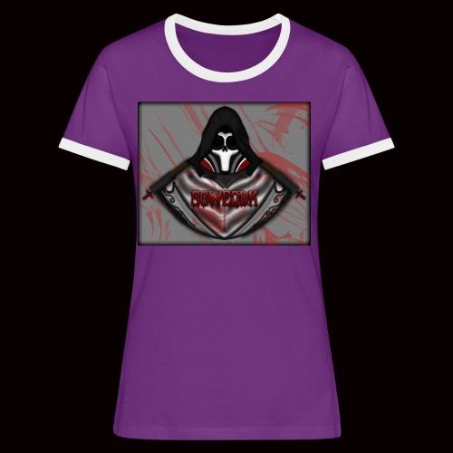 SoWeQDK Reaper ! - Dame kontrast-T-shirt