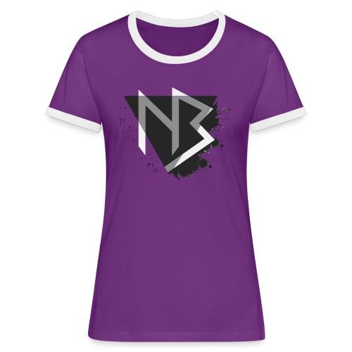 T-shirt NiKyBoX - Maglietta Contrast da donna