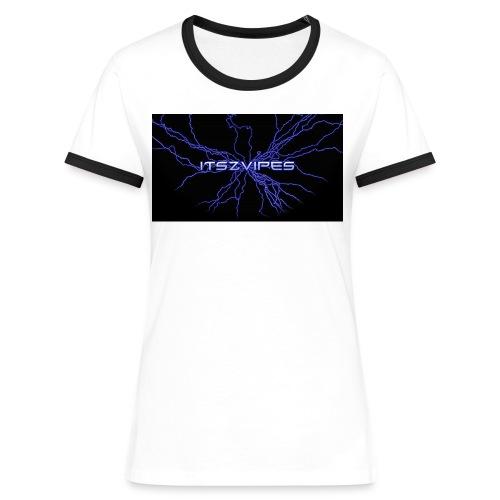 Beste T-skjorte ever! - Kontrast-T-skjorte for kvinner