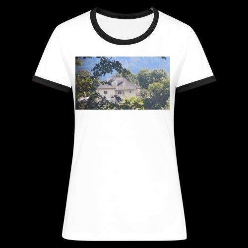 Altes Haus Vintage - Frauen Kontrast-T-Shirt