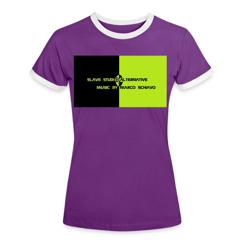Channel_Art_Template_ufo_youtube_pt_4 - Maglietta Contrast da donna