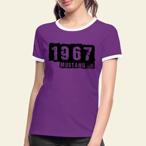 1967 - Dame kontrast-T-shirt