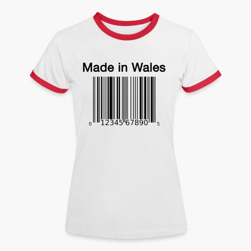 Made in Wales - Women's Ringer T-Shirt