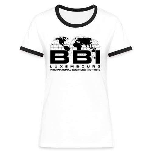 Black Logo Collection - Women's Ringer T-Shirt