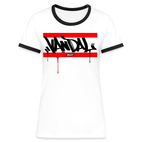 #EASY Graffiti Vandal T-Shirt - Maglietta Contrast da donna