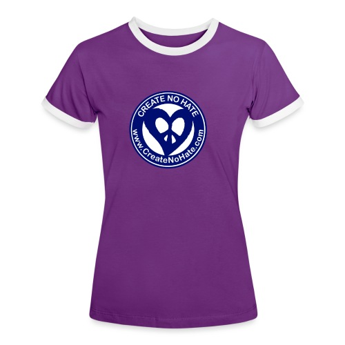 THIS IS THE BLUE CNH LOGO - Women's Ringer T-Shirt