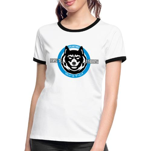 Lykanthro EST. 1985 - Frauen Kontrast-T-Shirt