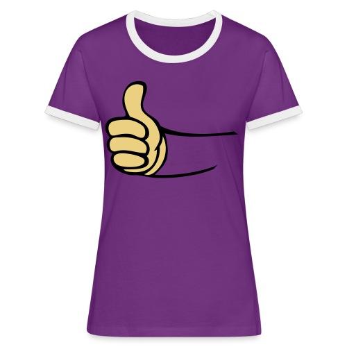 Vault - Vrouwen contrastshirt