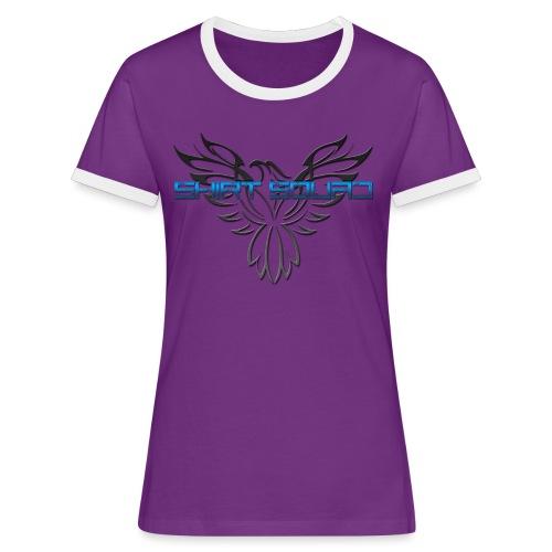 Shirt Squad Logo - Women's Ringer T-Shirt