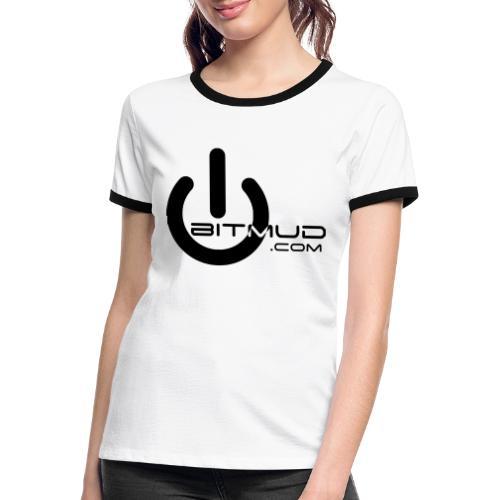 Bitmud Logo - Frauen Kontrast-T-Shirt